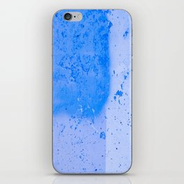 Stonewall in Pale Cerulean and Cyan iPhone Skin