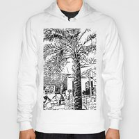 palm tree Hoodies featuring Palm tree by ArteGo