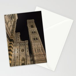 piazza del duomo cathedral square Firenze Tuscany Italy Stationery Cards