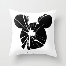 Mickey Is Dead No.1 Throw Pillow
