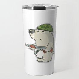 "Cs:go : sticker ""Nelu the bear"" Travel Mug"