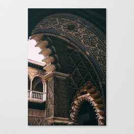 Moorish architecture Canvas Print