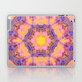 Delicate kaleidoscope in the colors of summer Laptop & iPad Skin