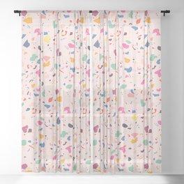 Happy Terrazo Sheer Curtain