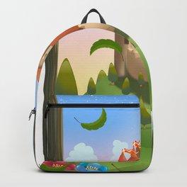 Cartoon Castle, Backpack