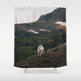 Mountain Wizard Shower Curtain