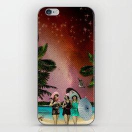 Serenade on the Beach iPhone Skin