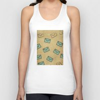 letter Tank Tops featuring Letter by sinonelineman