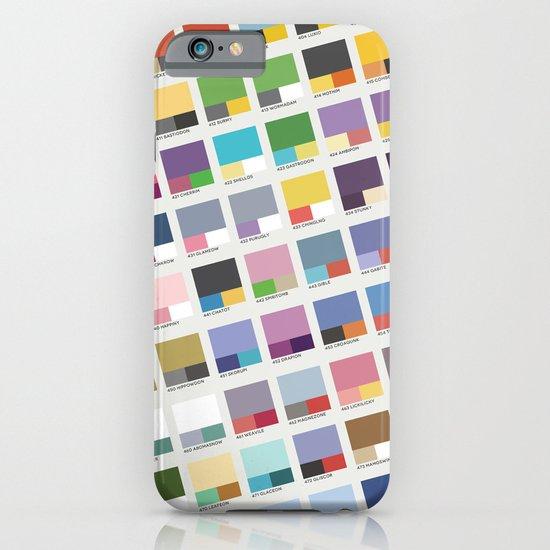 Poke-Pantone 4 (Sinnoh Region) iPhone & iPod Case