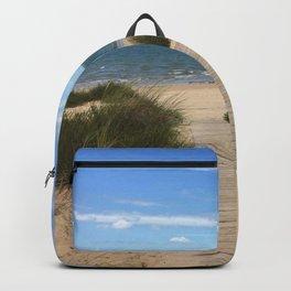 Breezy Seaside Path Backpack