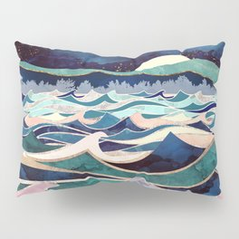 Moonlit Ocean Pillow Sham