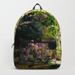 Vintage Classic Flower Still Life Backpack