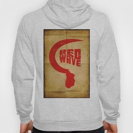 Red Wave. Hoody