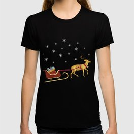 Reindeer with Presents T-shirt