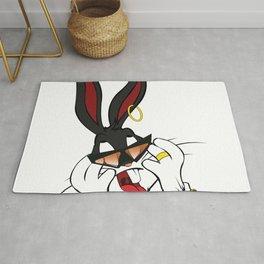 Bad Bunny Baby Rug