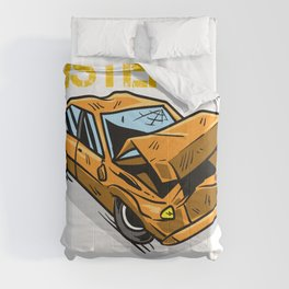 Demolition Derby Team Car Crashing Smash Gift Comforters