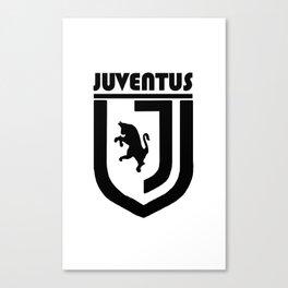 Slogan Juventus Canvas Print