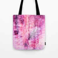 icecream Tote Bags featuring Blueberry icecream by ilyianne