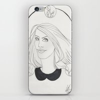 lydia martin iPhone & iPod Skins featuring Lydia by Wolfhearted