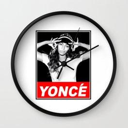 beyonceYonce obey style Wall Clock
