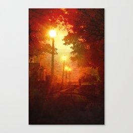 The Westlake Branch Line Canvas Print