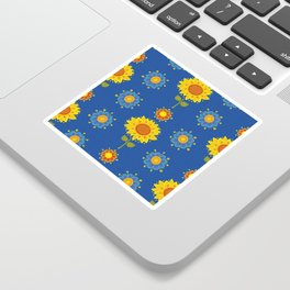 Sunflowers of Ukraine Sticker