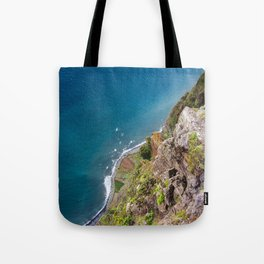 Madeira -view from cliff Tote Bag