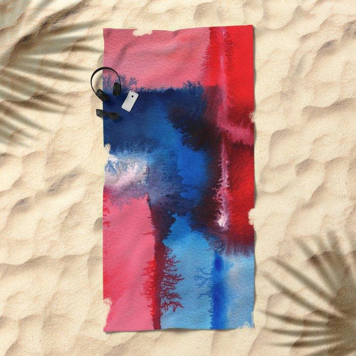 Improvisation 12 Beach Towel