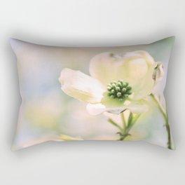 Spring Dogwood Rectangular Pillow