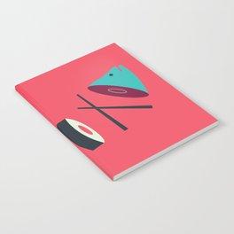 Sushi Fish Notebook