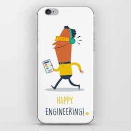 Happy Engineering iPhone Skin