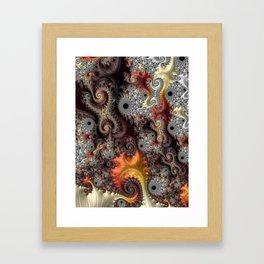 Elegance - Fractal Art Framed Art Print
