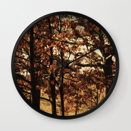 Respite on the Trail Wall Clock