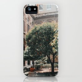 Orange Picking iPhone Case