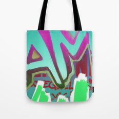 To Be Or Not To Be In Blue Tote Bag