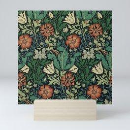 William Morris Compton Floral Art Nouveau Pattern Mini Art Print