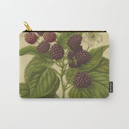 Botanical Blackberries Carry-All Pouch