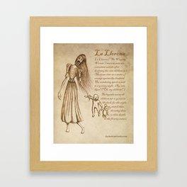 La Llorona Framed Art Print