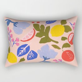 Arancia Rossa Rectangular Pillow