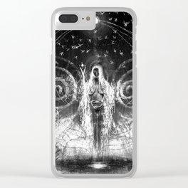 seiðkona Clear iPhone Case
