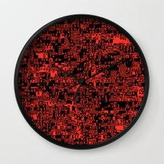 ASCII Wall Clock