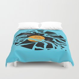Disc Jockey Duvet Cover