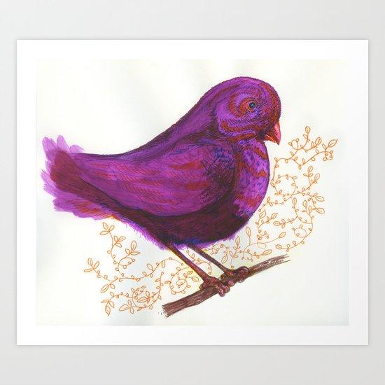 Dollar Store Dove Art Print