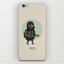 Tyreese iPhone Skin