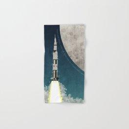 Apollo Rocket Launch to the Moon Hand & Bath Towel