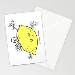 Lemon Love Stationery Cards