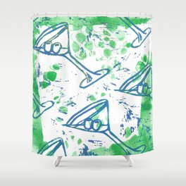 jellicle cocktails Shower Curtain