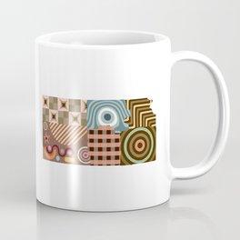 Kansas State Map Coffee Mug