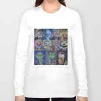 muppets Long Sleeve T-shirts featuring Muppets/ Doctor Who Mash-up by Lissyleem