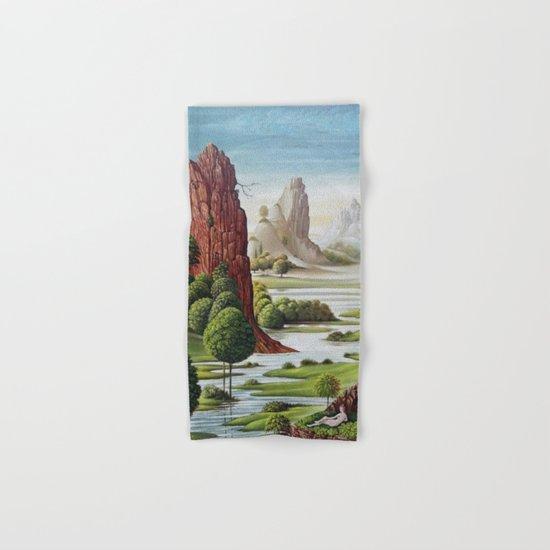 valley water Hand & Bath Towel